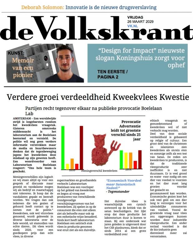 Krantenartikel Design For Impact